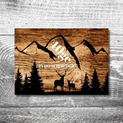 Alpenpanorama | 4-Seitig