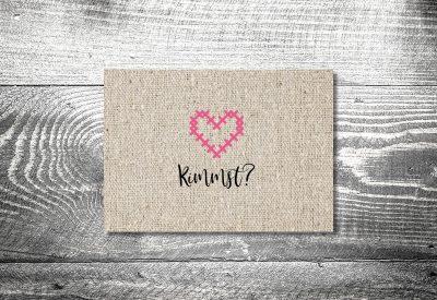 kartlerei bayrische einladungskarten geburtstag bayerische einladung stickherz 400x275 - Geburtstagseinladung auf Bayrisch