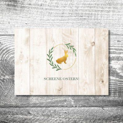 Goldener Hase | 4-Seitig
