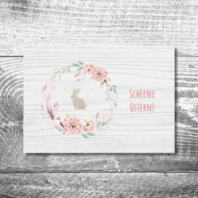 Blumenhase | 4-Seitig