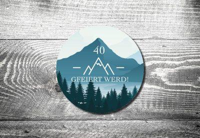 kartlerei bierdeckel drucken bayrische einladung alpenliebe 400x275 - Geburtstagseinladung auf Bayrisch