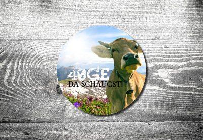 kartlerei bierdeckel drucken bayrische einladung muh 400x275 - Bierdeckel ABC