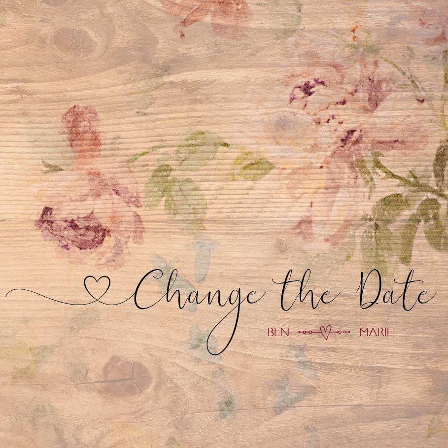 kartlerei change the date corona - Corona & Hochzeit