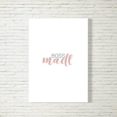 Poster/Bild BossMadl