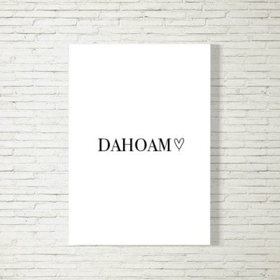 Poster/Bild Dahoam Herzl
