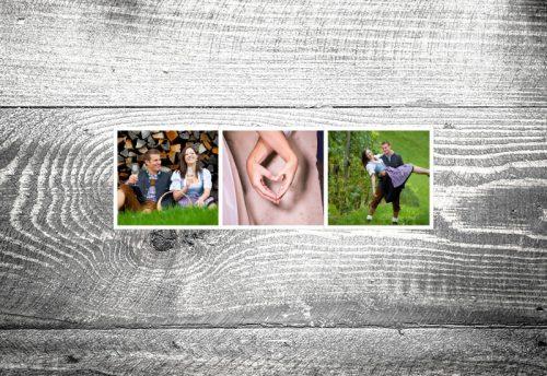 Einladung  Fotostreifen