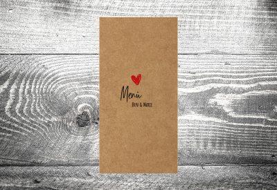 kartlerei bayrische hochzeitskarten menuekarten kraftpapier13 400x275 - Bierdeckel drucken als Menükarte Hochzeit