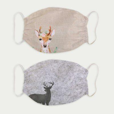 Masken Set Bambi + Filzhirsch 18,50 €