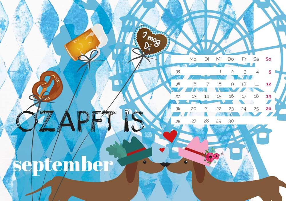 kartlerei bayrischer kalender heimatliebe kalender tischkalender 202110 - Home