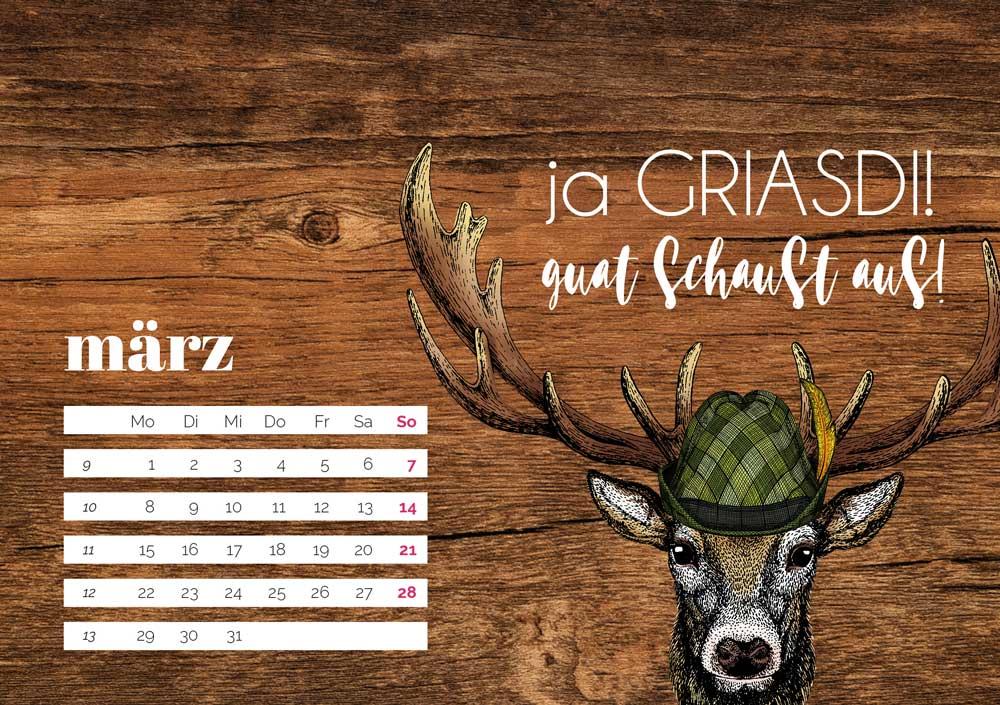 kartlerei bayrischer kalender heimatliebe kalender tischkalender 20214 - Home