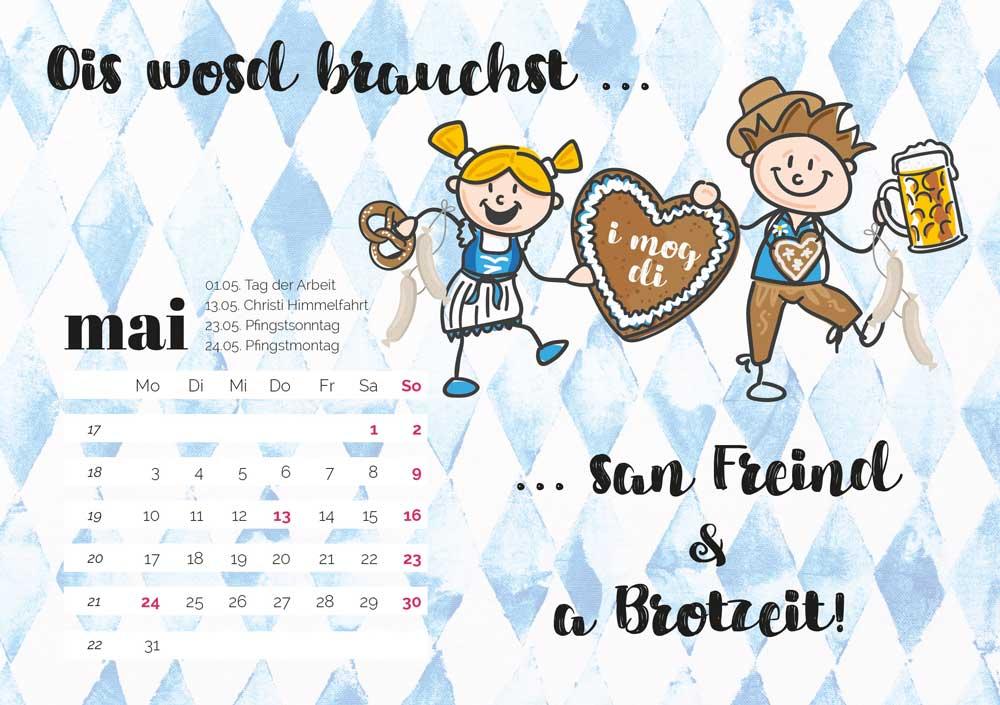 kartlerei bayrischer kalender heimatliebe kalender tischkalender 20216 - Home