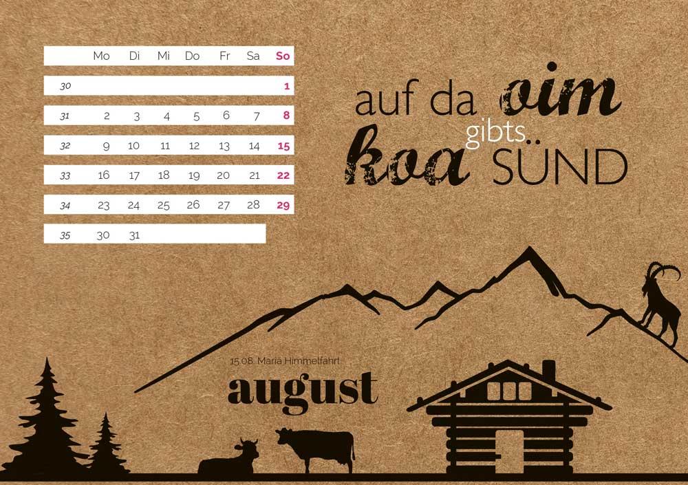 kartlerei bayrischer kalender heimatliebe kalender tischkalender 20219 - Home