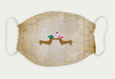 kartlerei bayrische masken dackelliebe hunde dackel 400x275 - Bayrische Mund-Nasen-Masken
