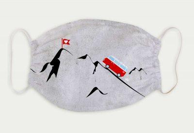 kartlerei bayrische masken vw bus foto rosi bulli vanlife bergliebe 400x275 - Bayrische Mund-Nasen-Masken