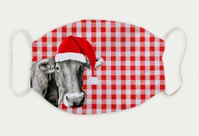 kartlerei bayrische masken weihnachten weihnachtsmaske kuh nikolaus 400x275 - Bayrische Mund-Nasen-Masken