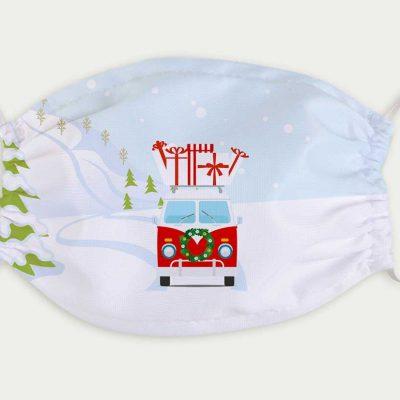 Maske Bulli Weihnachten 9,90 €