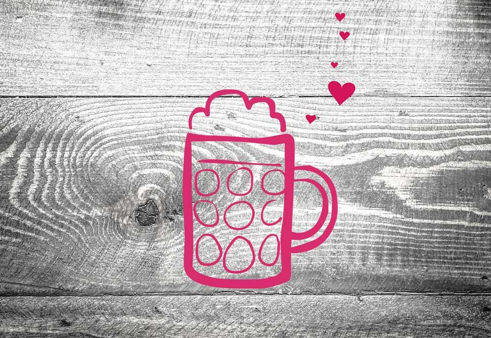 kartlerei kaffeekasse trinkgeld feierabendbier - Home
