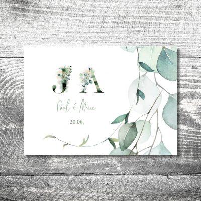 Danke Eukalyptus | 4-Seitig
