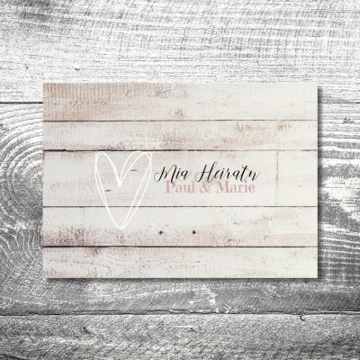 Hochzeit Vintageliebe | 4-Seitig
