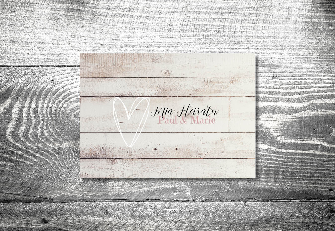 kartlerei bayrische einladungskarten hochzeitseinladung vintageliebe3 - Hochzeitskarten Set