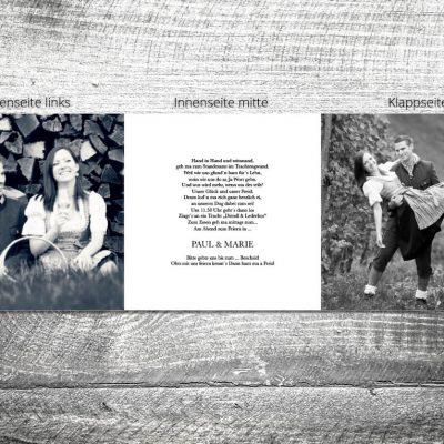 Hochzeit A Lebn lang | 6-Seitig