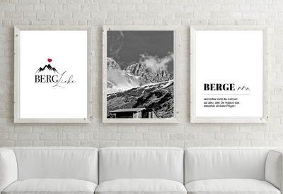Poster set bergliebe 400x275 - Poster & Bilder