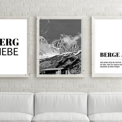 Poster-Set Berge Wilder Kaiser