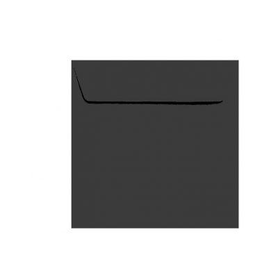 Umschläge Quadratisch 155 x 155 mm – Schwarz mit Haftstreifen