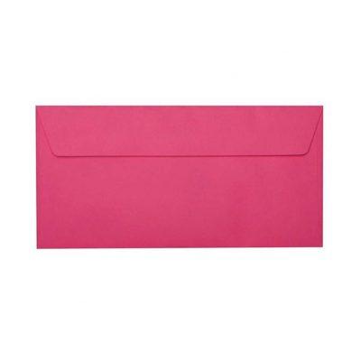 Umschläge DIN lang 110 x 220 mm – Pink mit Haftstreifen