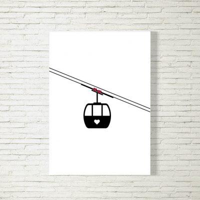 Poster/Bild Gondelliebe