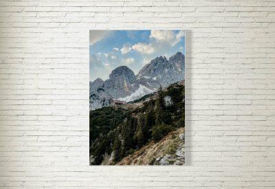 kartlerei poster shop bayrische poster kaisergebirge gruttenhuette 400x275 - Poster & Bilder