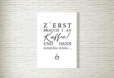 kartlerei poster shop bayrische poster kueche kaffee 400x275 - Poster & Bilder