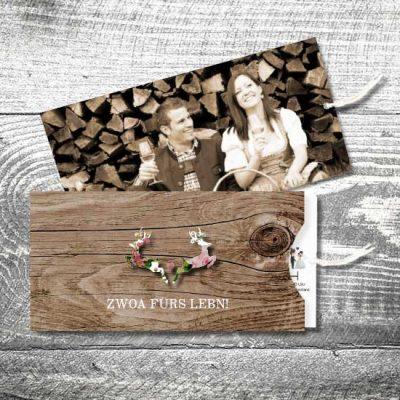 Hochzeit Blumenhirscherl | Einsteckkarten Set