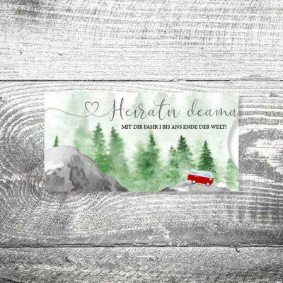 Hochzeit Foto Rosi II | Einsteckkarten Set