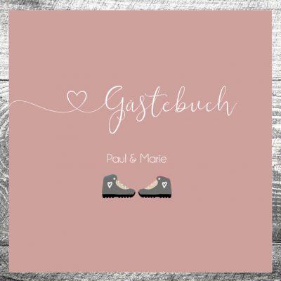 Gästebuch Bergschuhe
